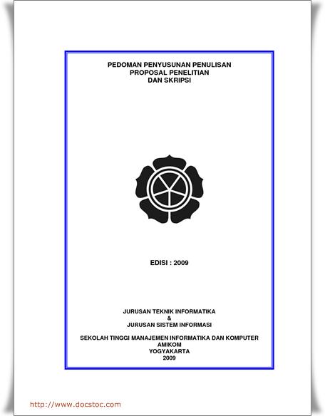 Contoh Proposal Skripsi Bahasa Inggris Terbaru Share The Knownledge